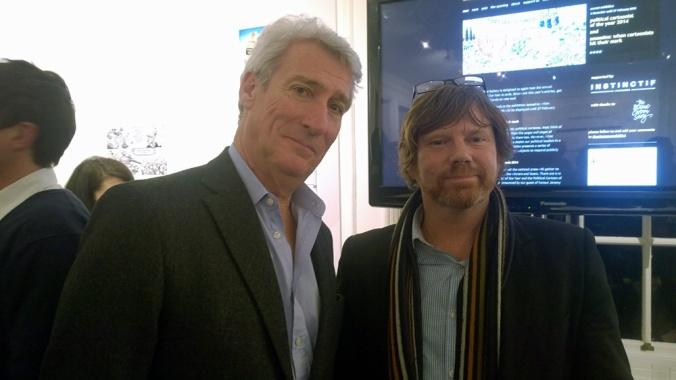 Mark meets Jeremy Paxman