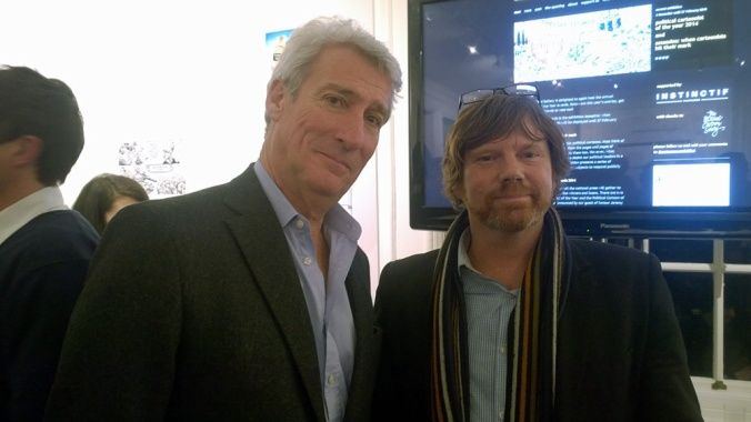 Mark meets Jeremy Paxman