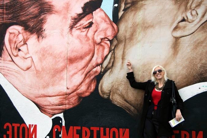 Berlin Wall Frankie