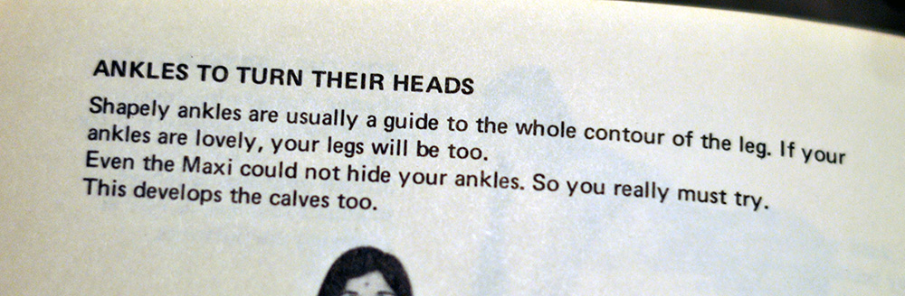Ankles to Turn Their Heads