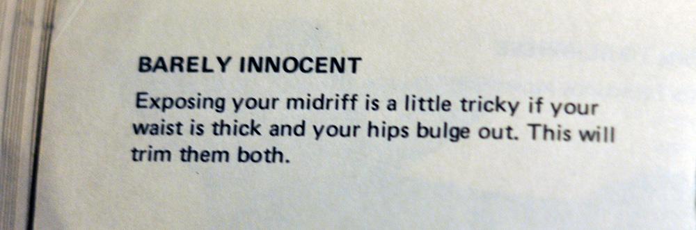 Barely Innocent