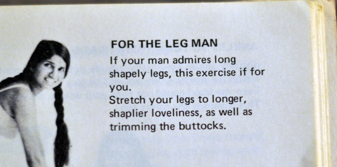 For the leg man